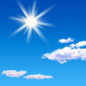 This Afternoon: Sunny, with a high near 38. Northwest wind around 15 mph, with gusts as high as 24 mph.